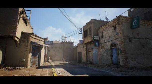 玩家利用虚幻4引擎自制《反恐精英》De_Dust 2地图