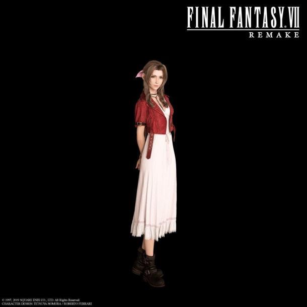《最終幻想7:重制版》高清新圖 愛麗絲顏值高讓人心動