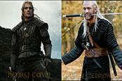 《巫師》電視劇角色對比視頻