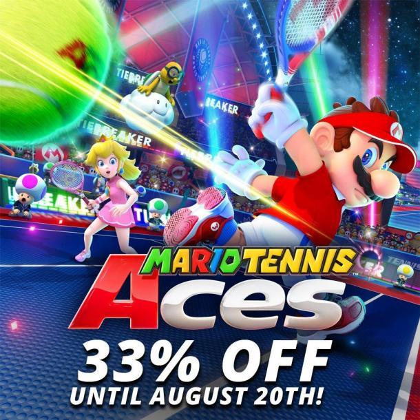 NS会免游戏再公布 《马里奥网球:Ace》限时免费玩