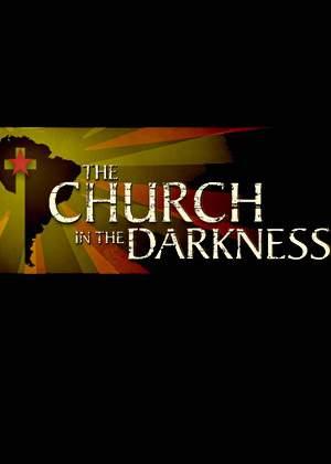 黑暗中的教堂图片
