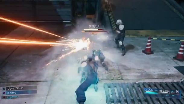 更加从容不迫!《最终幻想7:重制版》新战斗演示放出