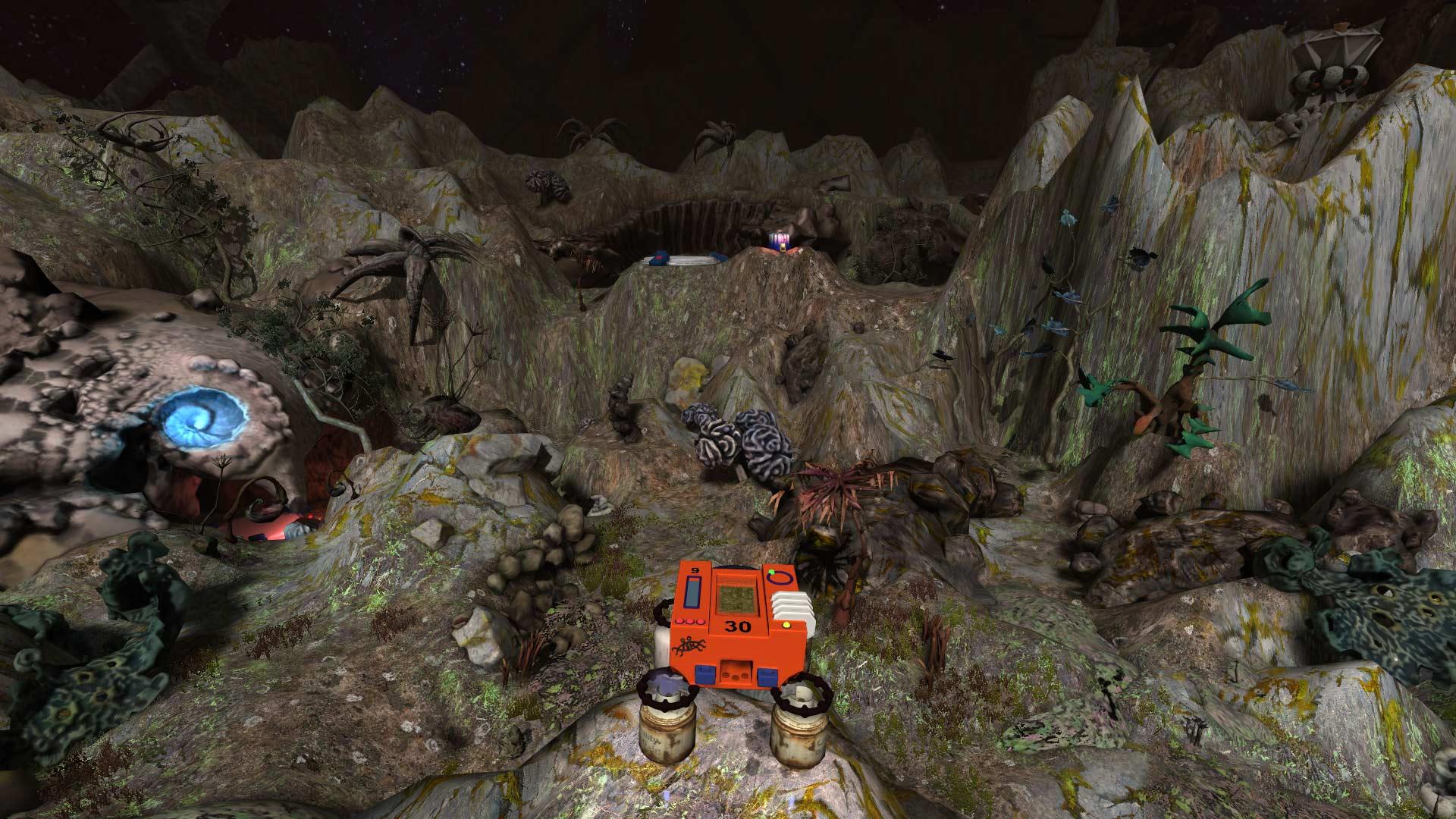 坠落的登陆器图片