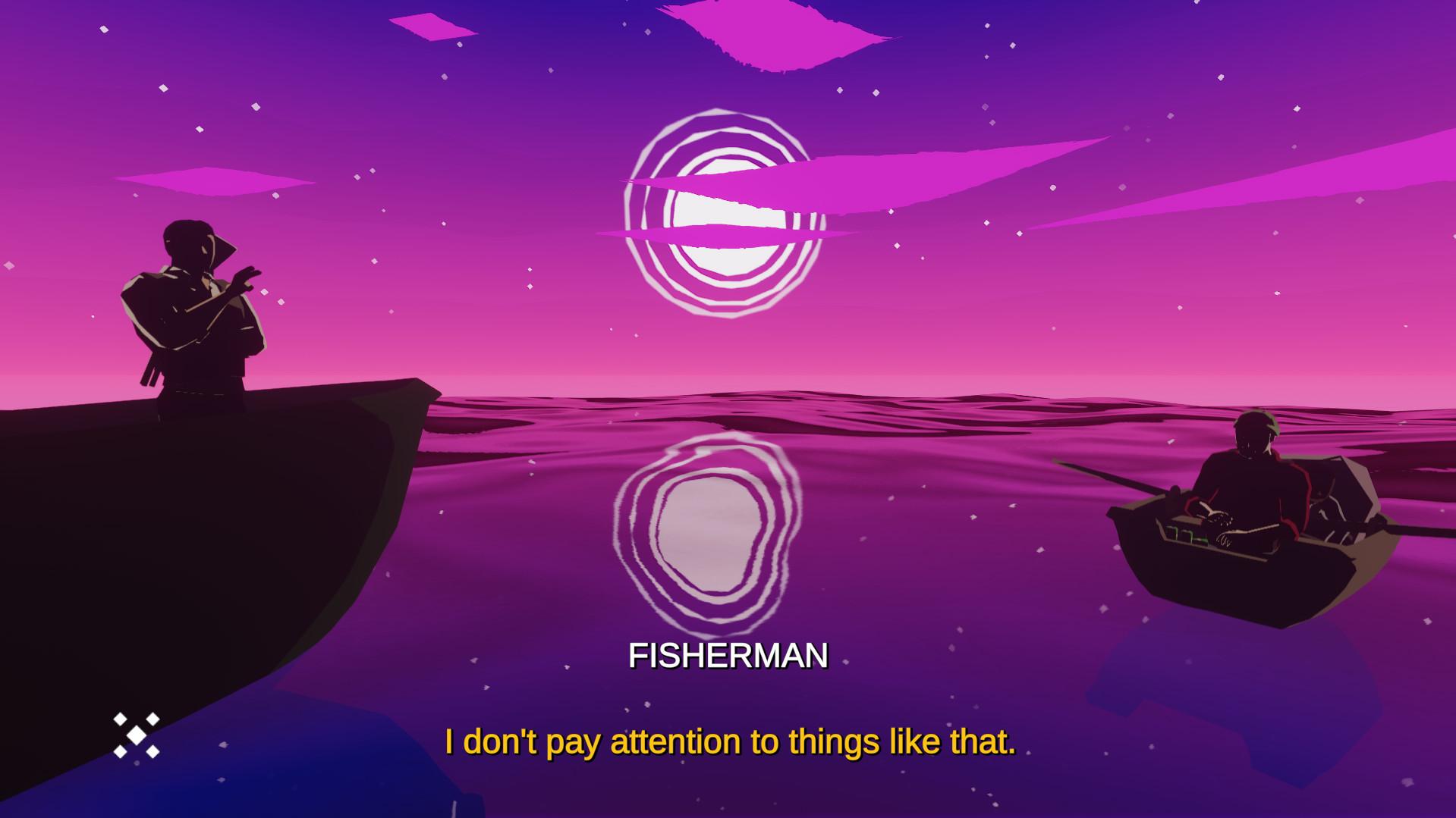 夜间渔夫图片