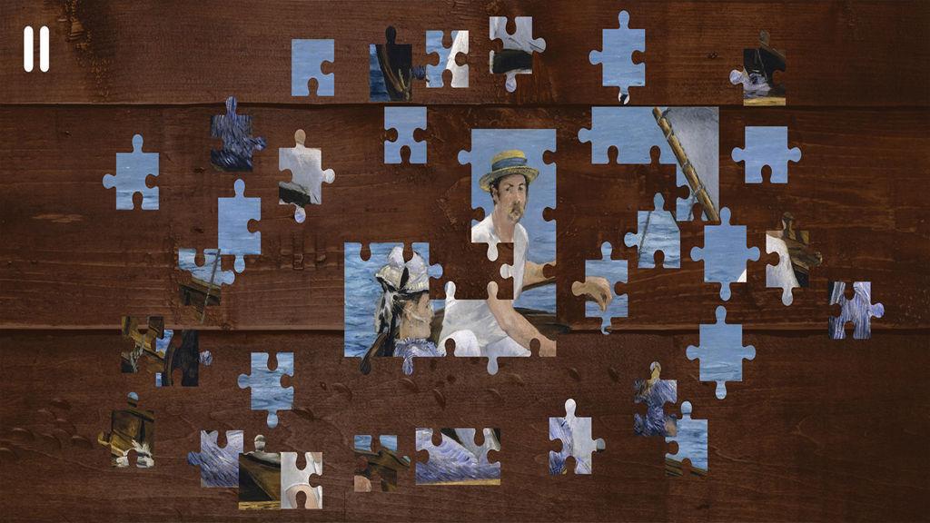 艺术世界-学习拼图游戏图片