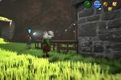《塞尔达传说:时之笛》大神重制版新演示 可搬运鸡神