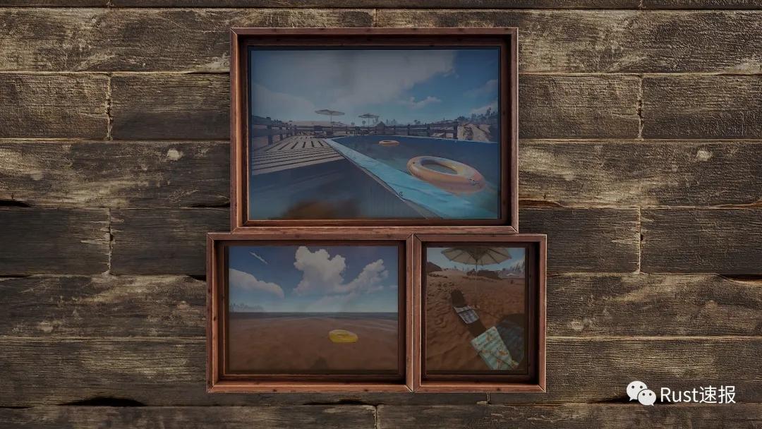 RUST腐蚀日灼DLC拍照方法及相框制作攻略