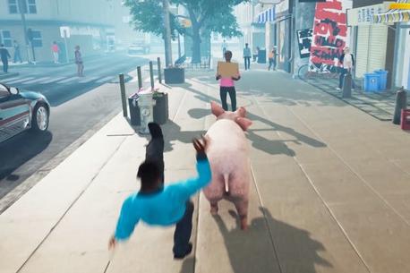 沙雕模拟游戏《滑板猪模拟器》上架Steam平台