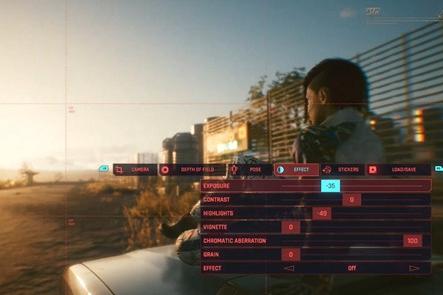 CDPR发布《赛博朋克2077》拍照模式预告片