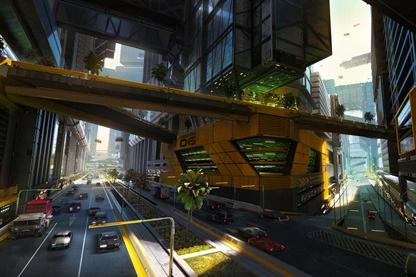 《赛博朋克2077》概念艺术图汇总