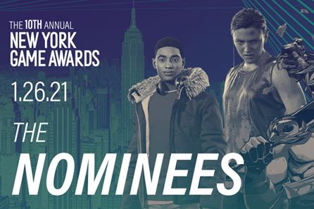 第十届纽约游戏奖提名名单公布