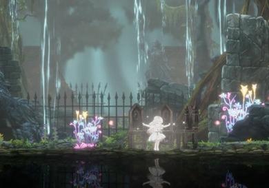 银河恶魔城类游戏《终结的百合花》试玩视频公布