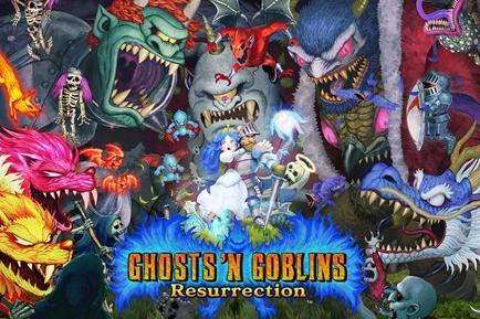 《魔界村Resurrection》发布新视频展示各种武器