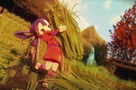 日本农家玩《天穗之咲稻姬》区别真假稻米