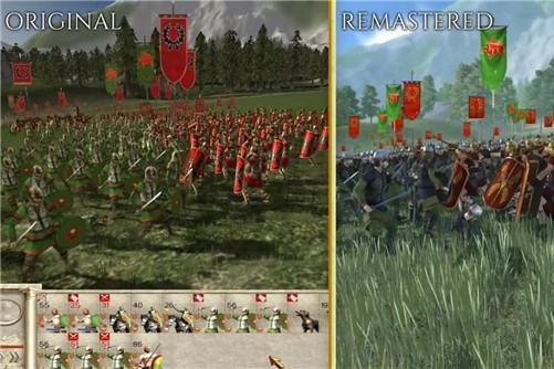 《全面战争:罗马》重制版与原版对比视频