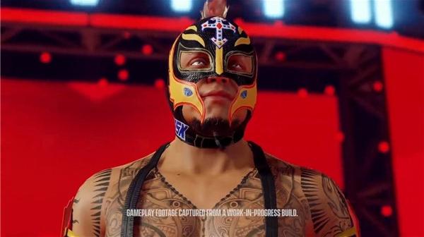 摔跤游戏系列新作《WWE 2K22》预告片首曝