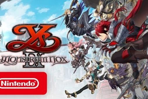 Switch北美版《伊苏9》7月9日发售