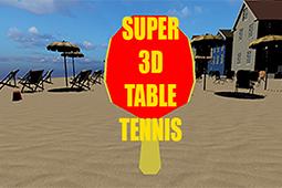 超级 3D 乒乓球