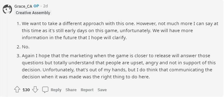 《全面战争:三国》宣布停更遭差评轰炸 因在开发新作 游戏资讯 第4张