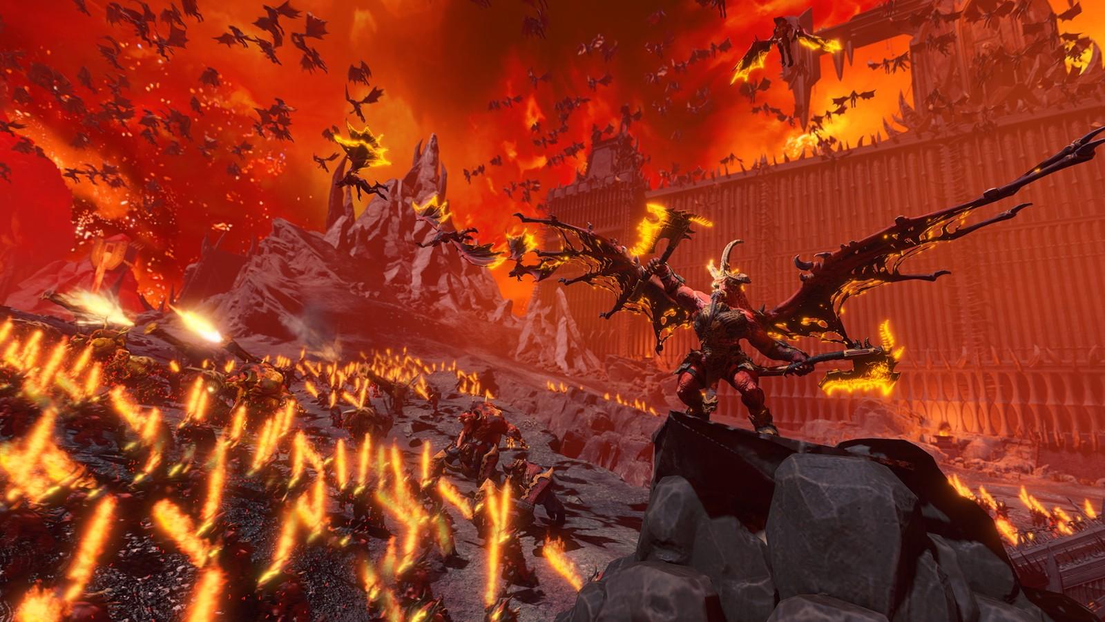 《全面战争:战锤 3》发布新预告片 血神的首席大魔王 游戏资讯 第1张