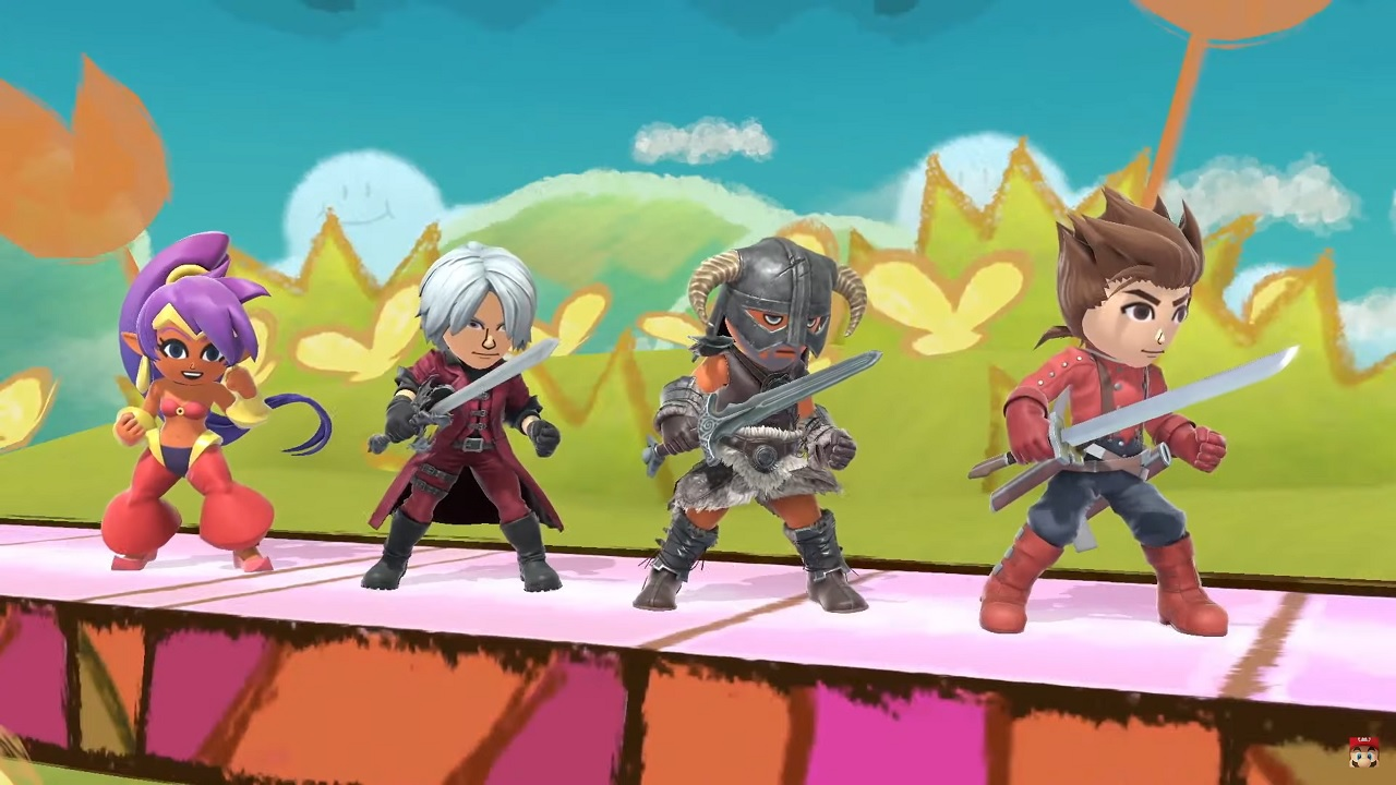 《任天堂大乱斗:特别版》更新正式上线 三岛一八加入 游戏资讯 第3张
