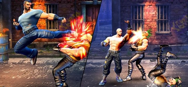 Street Warriors Fighting Game