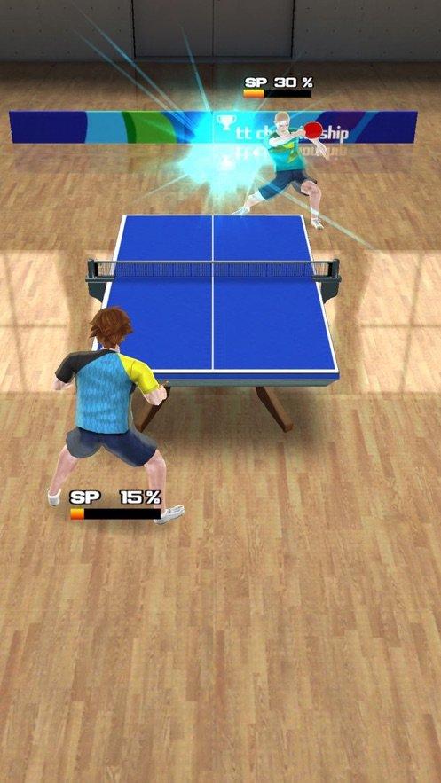 乒乓球巡回赛冠军