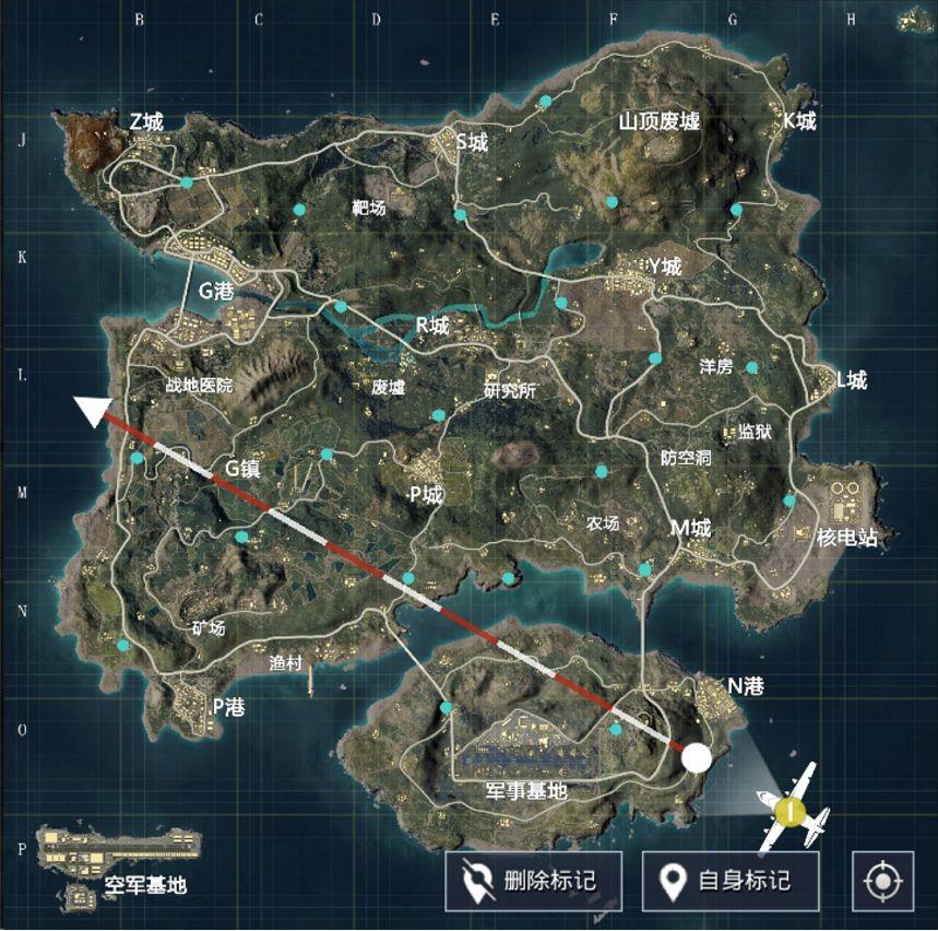 和平精英火力对决通讯塔刷新地图位置图 使用通讯塔复活队友