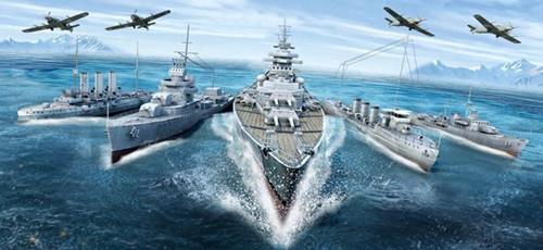 世界的海军舰队战争