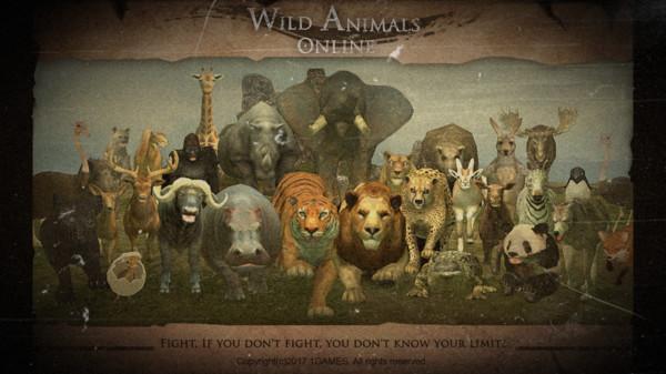 野生动物丛林法则