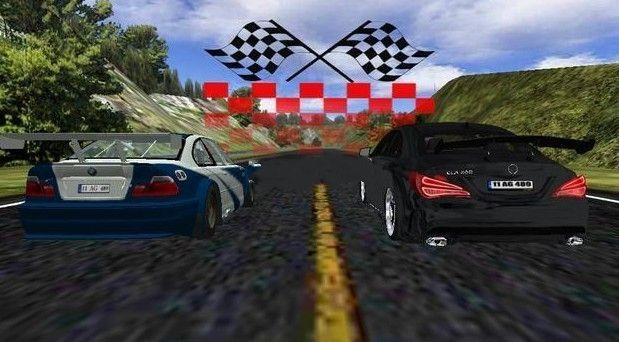 奔驰c200模拟驾驶