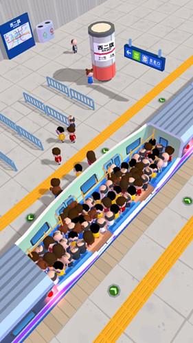 拥挤的地铁