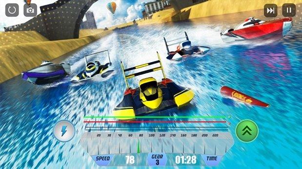 速度船競速仿真器3D