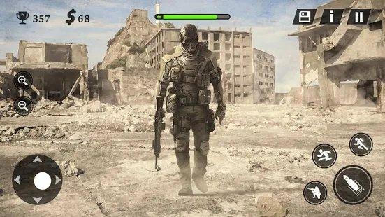 现代战场战争