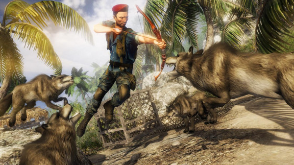 丛林生存战场 冒险解谜
