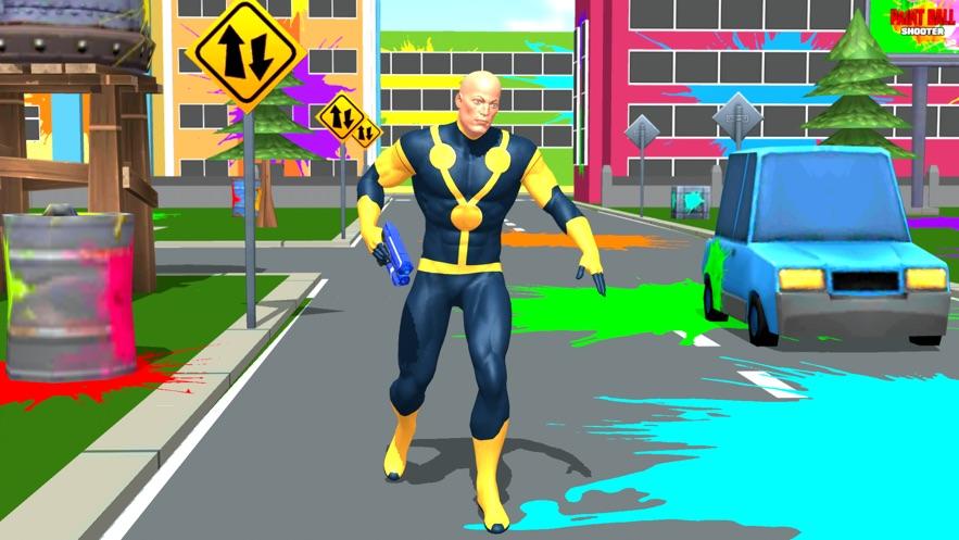 超级英雄彩弹射击比赛