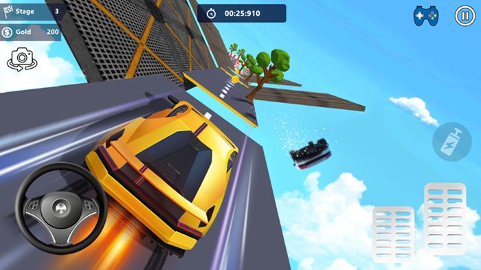 汽车特技天空公园3D