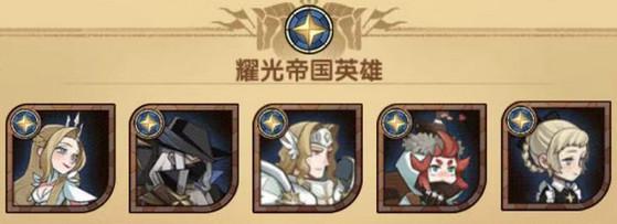 剑与远征最新版本光耀心愿单五人推荐
