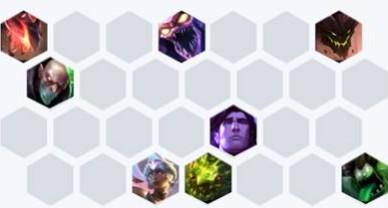 lol云頂之弈新版水晶掠食劇毒玩法 10.4最強掠食劇毒陣容推薦