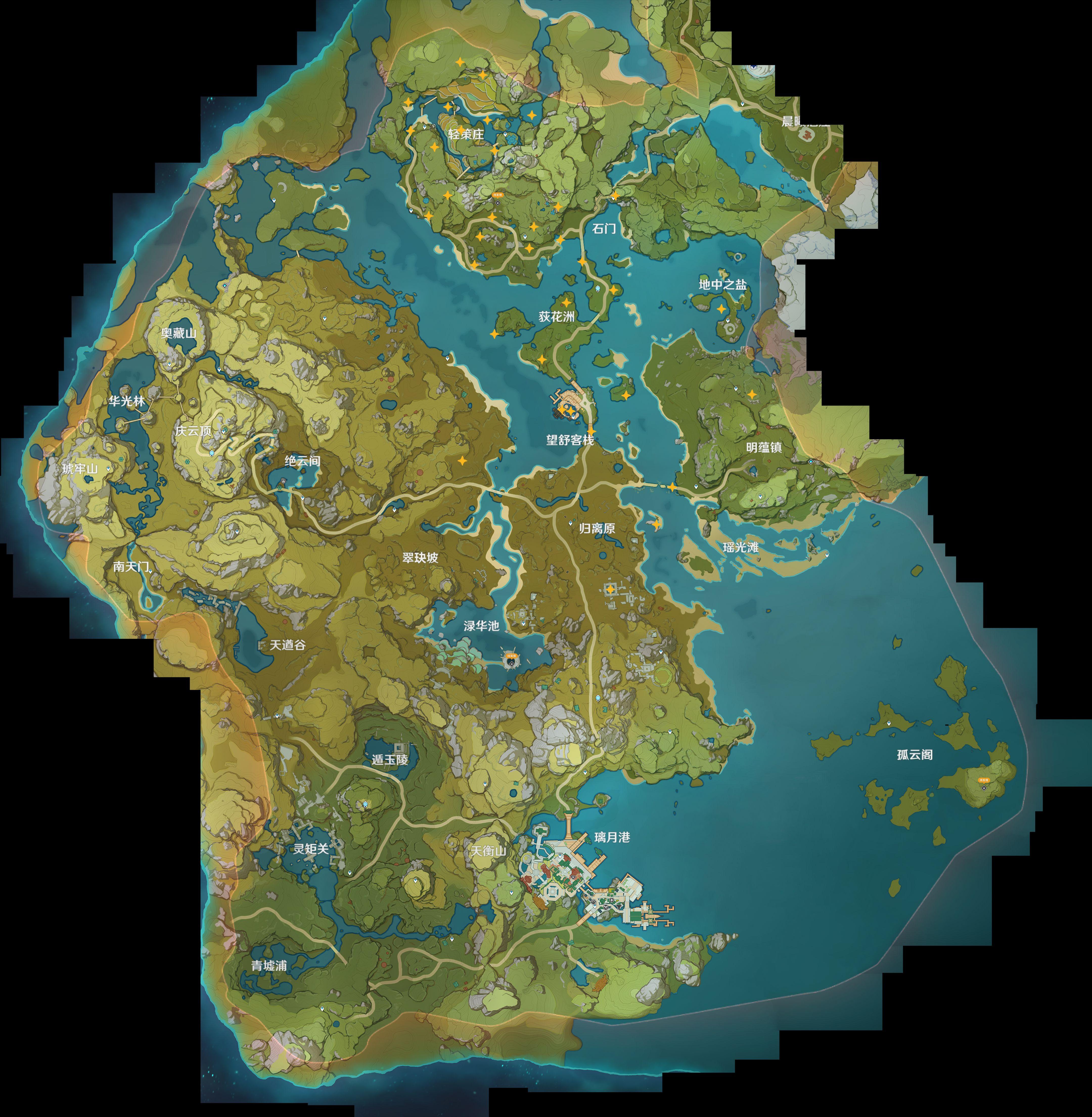 原神岩神瞳收集攻略 原神岩神瞳位置大全图