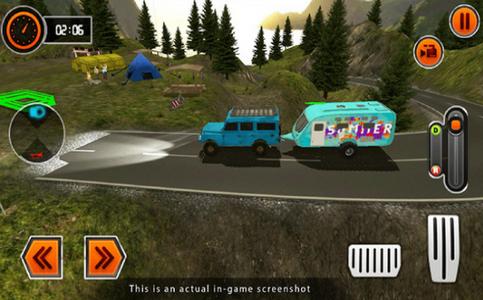 露营车模拟