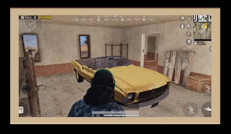 和平精英黄金肌肉跑车刷新点 黄金肌肉跑车位置一览