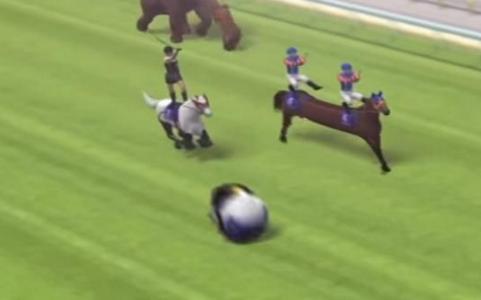 日本搞笑赛马
