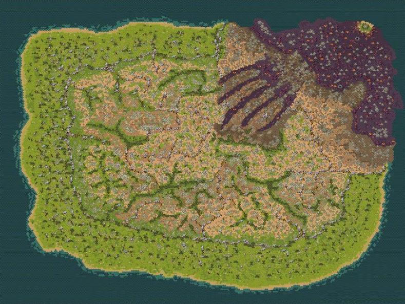 剑与远征团队远征高清全图地图一览
