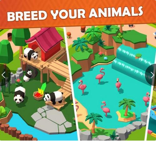 疯狂动物园麻将和动物