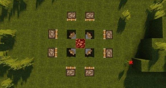 我的世界手游篝火制作攻略 篝火晚会怎么办