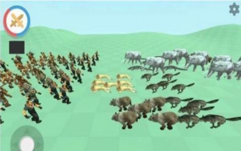 猎人与动物游戏