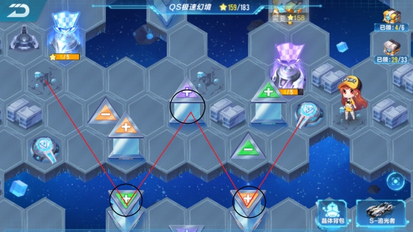 QQ飞车手游QS极速幻境第四区域怎么过 QS极速幻境第四区域通关攻略