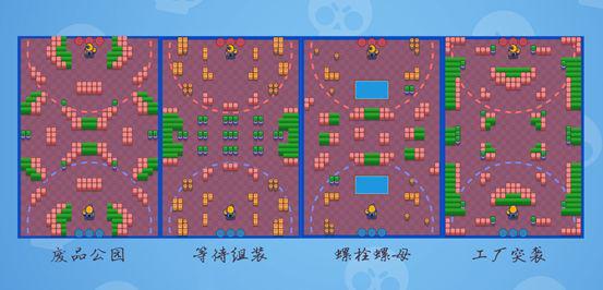 《【二号站娱乐代理】荒野乱斗机甲攻坚战地图攻略汇总 各地图玩法指南》