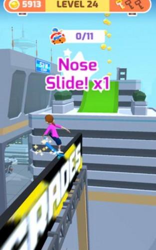 滑冰比赛游戏下载-滑冰